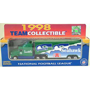 1998 White Rose NFL Die-Cast Tractor-Trailer Seattle Seahawks