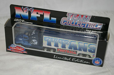 1999 White Rose NFL Die Cast Tractor-Trailer - Tennessee Titans