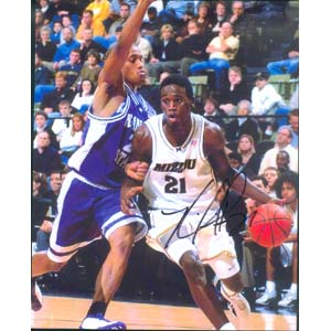"8"" X 10"" Autographed Photo - Missouri, Kareem Rush"