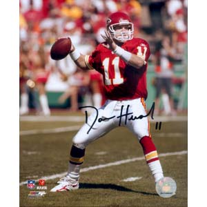 8 x 10 Autographed Photo of Damon Huard, Kansas City Chiefs