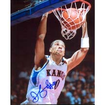 "8"" X 10"" Autographed Photo - Kansas Jayhawks, Drew Gooden"