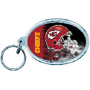 Acrylic Key Ring - Kansas City Chiefs