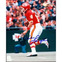 8 x 10 Autographed Photo of Mike Livingston, Kansas City Chiefs