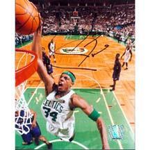 "8"" X 10"" Autographed Photo - Boston Celtics, Paul Pierce"
